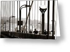 Golden Gate Suspension Greeting Card