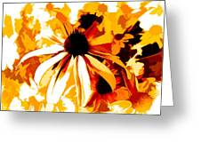 Golden Glow Of Summer Greeting Card