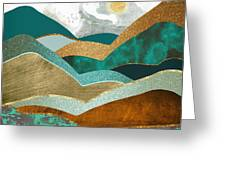Golden Hills Greeting Card