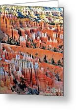 Golden Hour At Bryce Canyon 3 Greeting Card