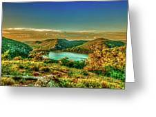 Golden Hour North Point Greeting Card