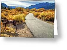 Golden Moments In Mammoth Greeting Card