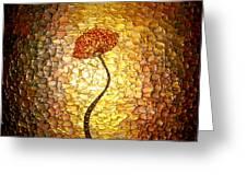 Golden Morning Greeting Card by Daniel Lafferty