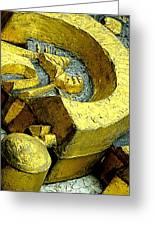 Golden Musselburgh IIi Greeting Card