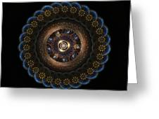 Golden Paradox Greeting Card