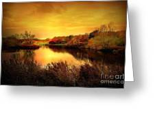 Golden Pond Greeting Card