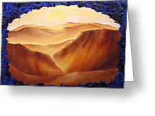 Golden Possibilities Greeting Card