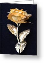 Golden Rose 1 Greeting Card