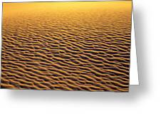 Golden Sand Greeting Card