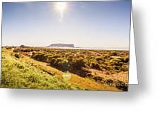 Golden Stanley Landscape Greeting Card