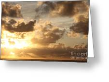 Golden Sunrise On Kauai Greeting Card