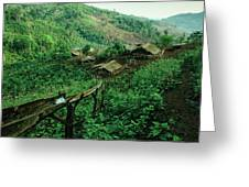 Golden Triangle Village Greeting Card