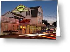 Goldenrod Kisses Luncheonette York Beach Maine Greeting Card