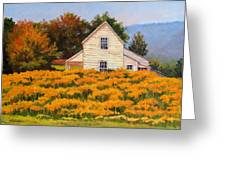 Goldenrod Time Greeting Card