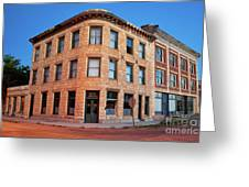 Goldfield Consolidated Mines Building Greeting Card