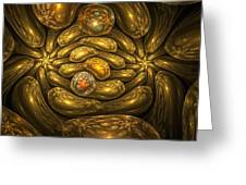 Goldfingers Greeting Card