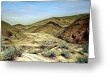 Goler Gultch California Greeting Card by Evelyne Boynton Grierson
