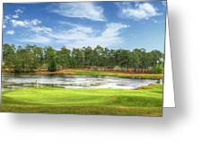 Golf At Pinehurst  Greeting Card