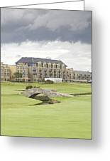 Golf Hotel, St Andrews Greeting Card