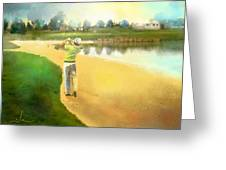 Golf In Club Fontana Austria 02 Greeting Card