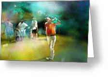 Golf In Club Fontana Austria 03 Greeting Card