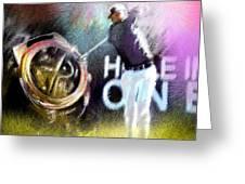 Golf In Crans Sur Sierre Switzerland 03 Greeting Card
