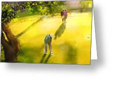 Golf In Spain Castello Masters  01 Greeting Card