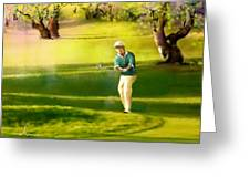 Golf In Spain Castello Masters  02 Greeting Card