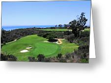 Golf Is Rough At Pelican Hill Resort Greeting Card
