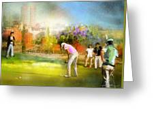 Golf Madrid Masters  02 Greeting Card