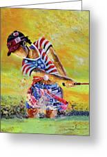 Golf Sandsation Greeting Card