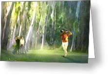 Golf Trophee Hassan II In Royal Golf Dar Es Salam Morocco 01 Greeting Card