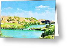 Golfers Delight Greeting Card
