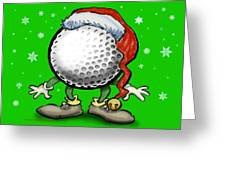 Golfmas Greeting Card