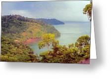 Golfo Dulce Costa Rica Greeting Card