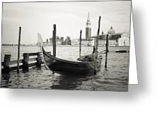 Gondola In Bacino S.marco S Greeting Card
