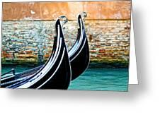 Gondola In Venice 1 Greeting Card