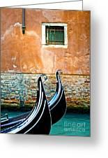 Gondola In Venice 2 Greeting Card
