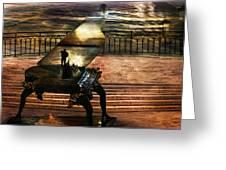 Gondolier Sonata Greeting Card