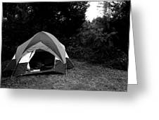 Gone Camping. Greeting Card