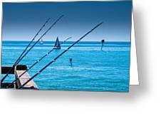 Gone Fishing Greeting Card