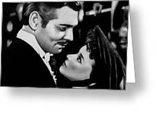 Gone With The Wind Greeting Card