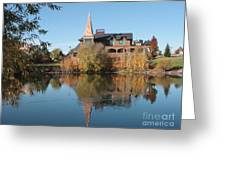 Gonzaga Art Building Greeting Card