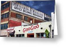 Goo Goo Shop Greeting Card