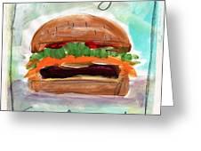 Good Burger Greeting Card