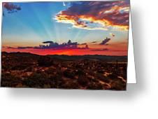 Good Evening Arizona Greeting Card