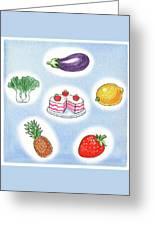 Good Food Greeting Card