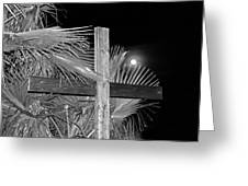 Good  Friday  In  Black  And  White Greeting Card