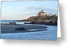 Good Harbor Beach Mansion Greeting Card