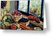 Good Harvest Greeting Card